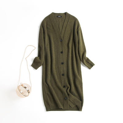 Long Cardigan Cashmere Sweater