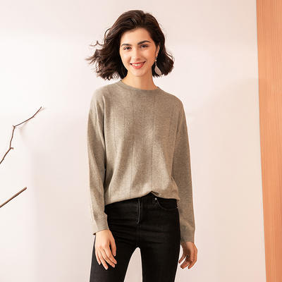 Wool With Cashmere Knit Sweater